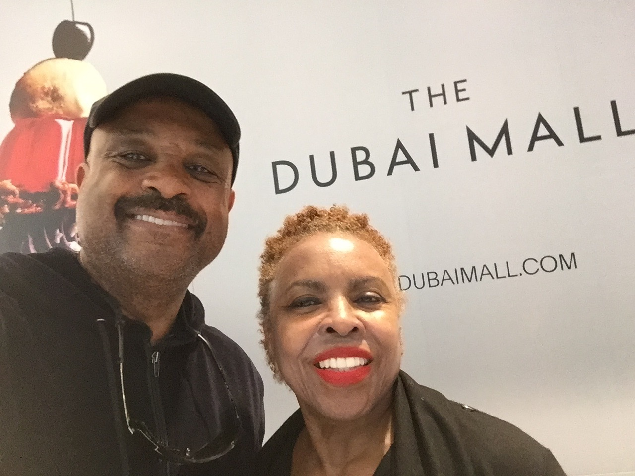 Willie and Dee Jolley in Dubai