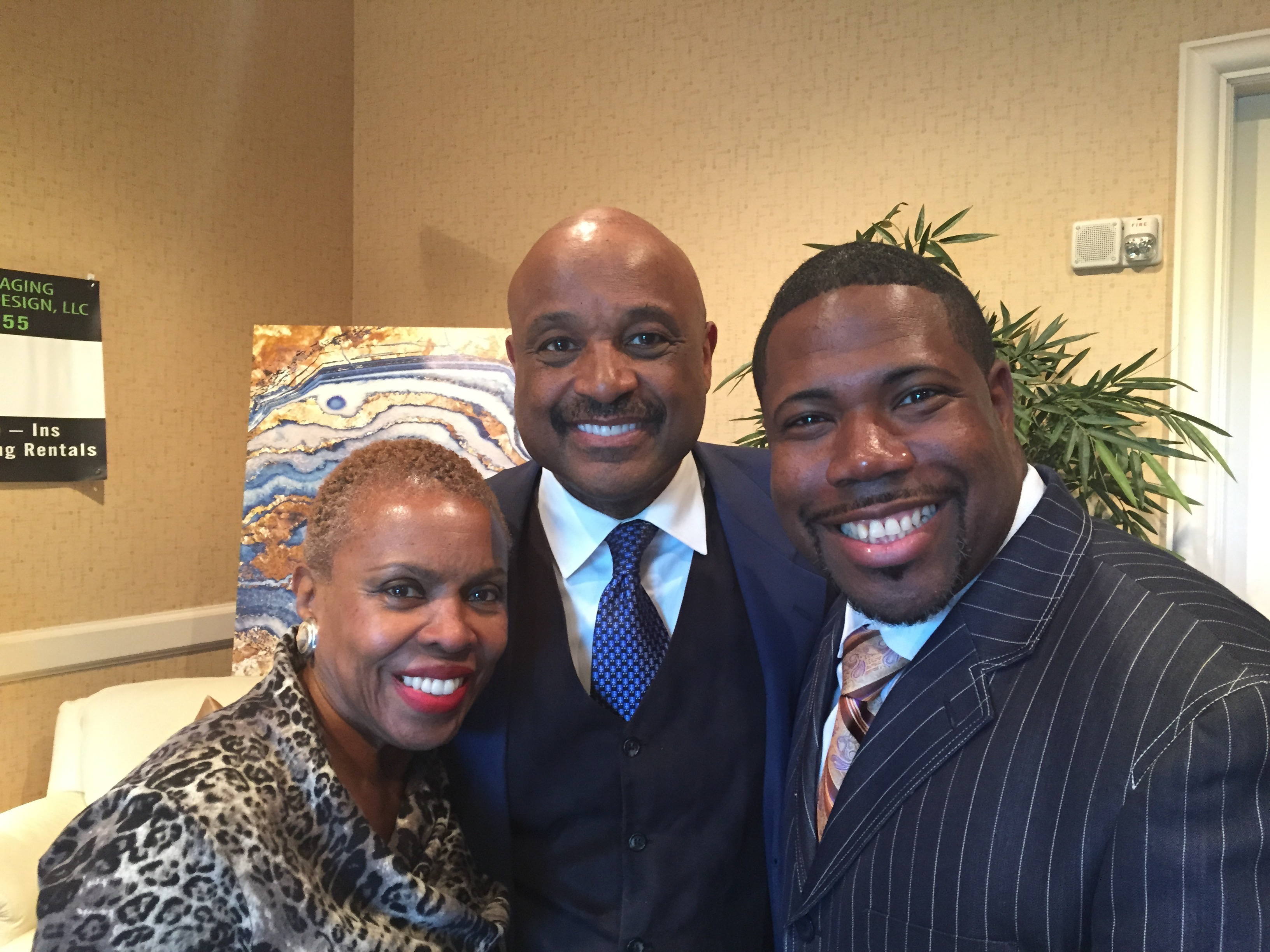 Willie and Dee Jolley with Delatorro McNeal