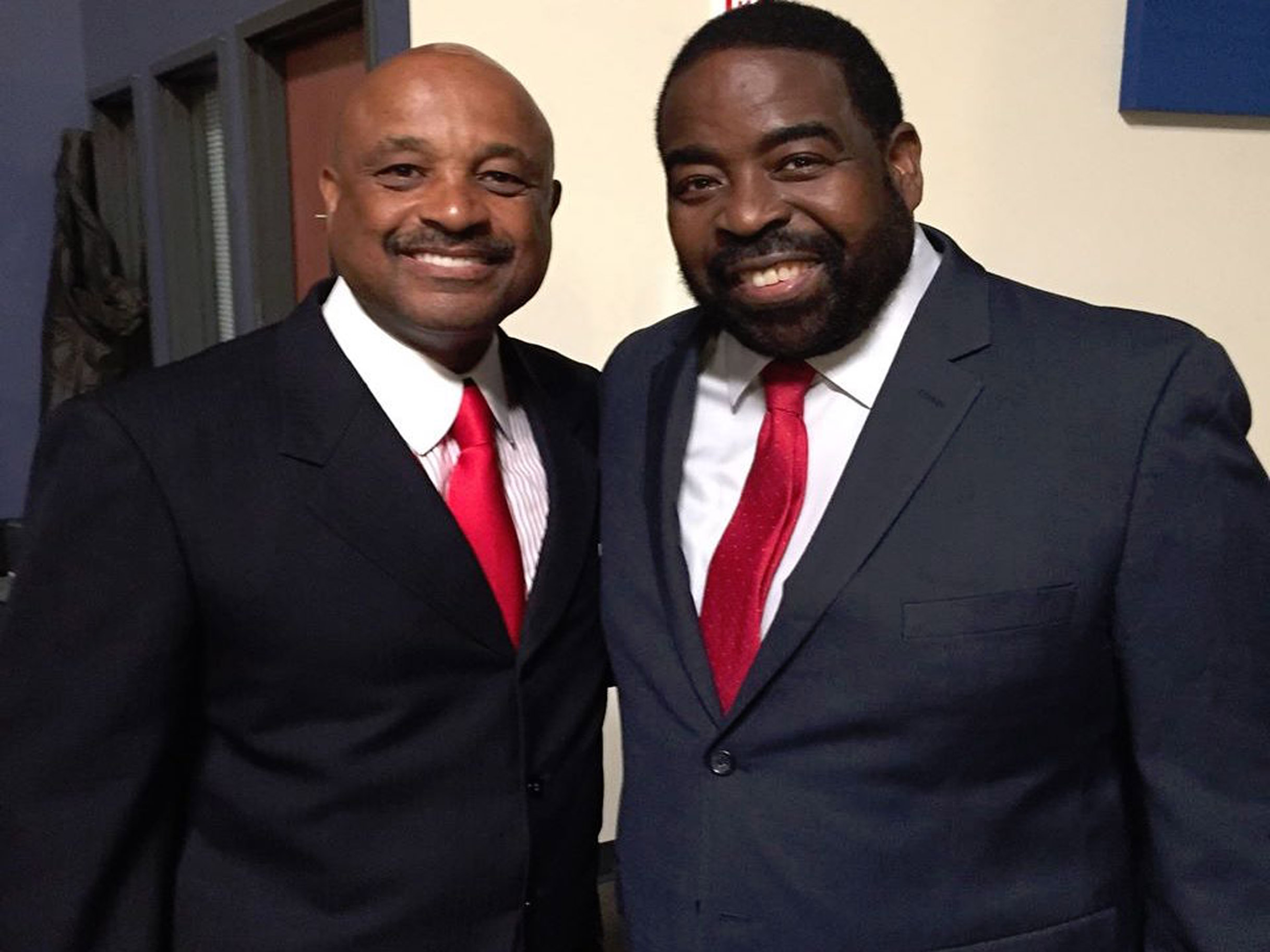 Dr. Willie Jolley and Les Brown
