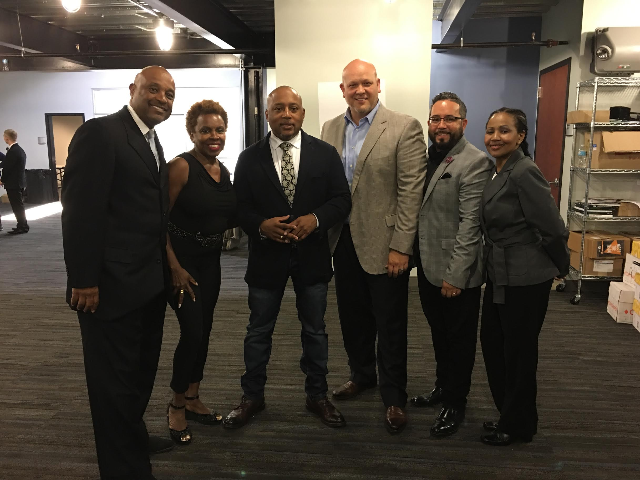 Willie and Dee Jolley with Get Motivated team